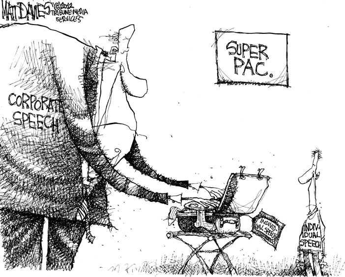 Image result for cartoons about lobbyists pac money